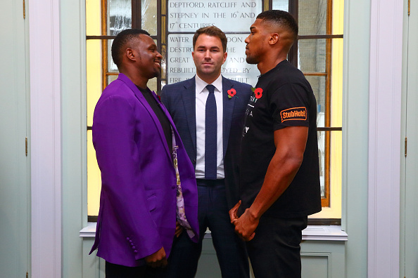 Anthony Joshua vs Dillian Whyte