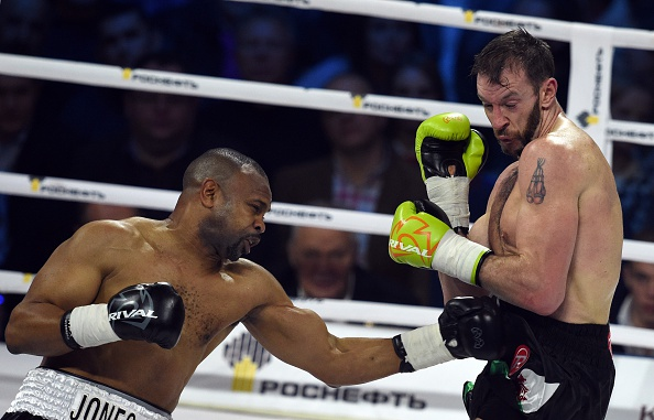 Roy Jones vs Enzo Maccarinelli