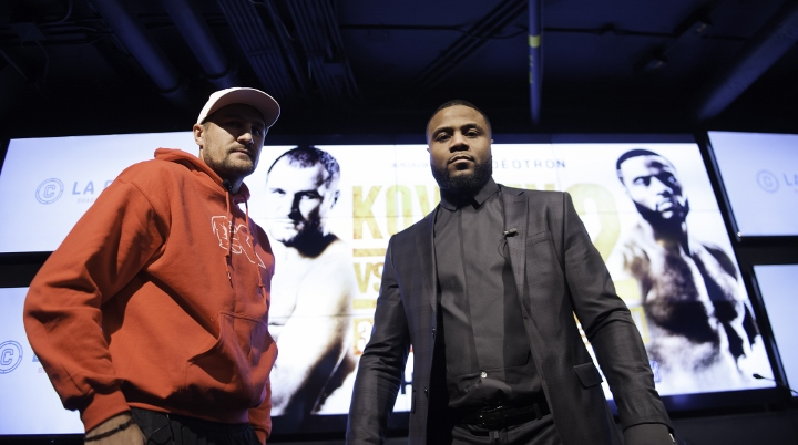 Sergey Kovalec vs jean Pascal rematch