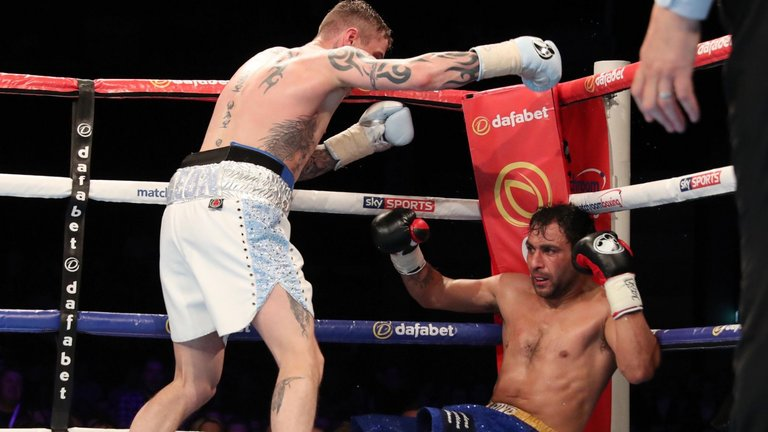 Ricky Burns vs Michele Di Rocco