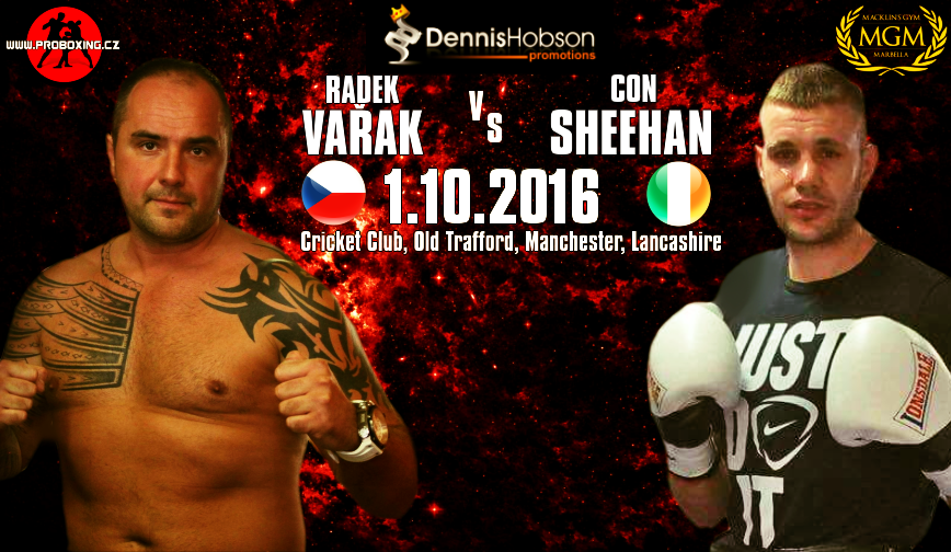 Radek Vařak vs Con Sheehan