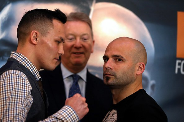 Josh Warrington vs Kiko Martinez