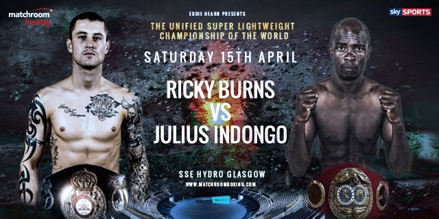 Ricky Burns vs Julius Indongo