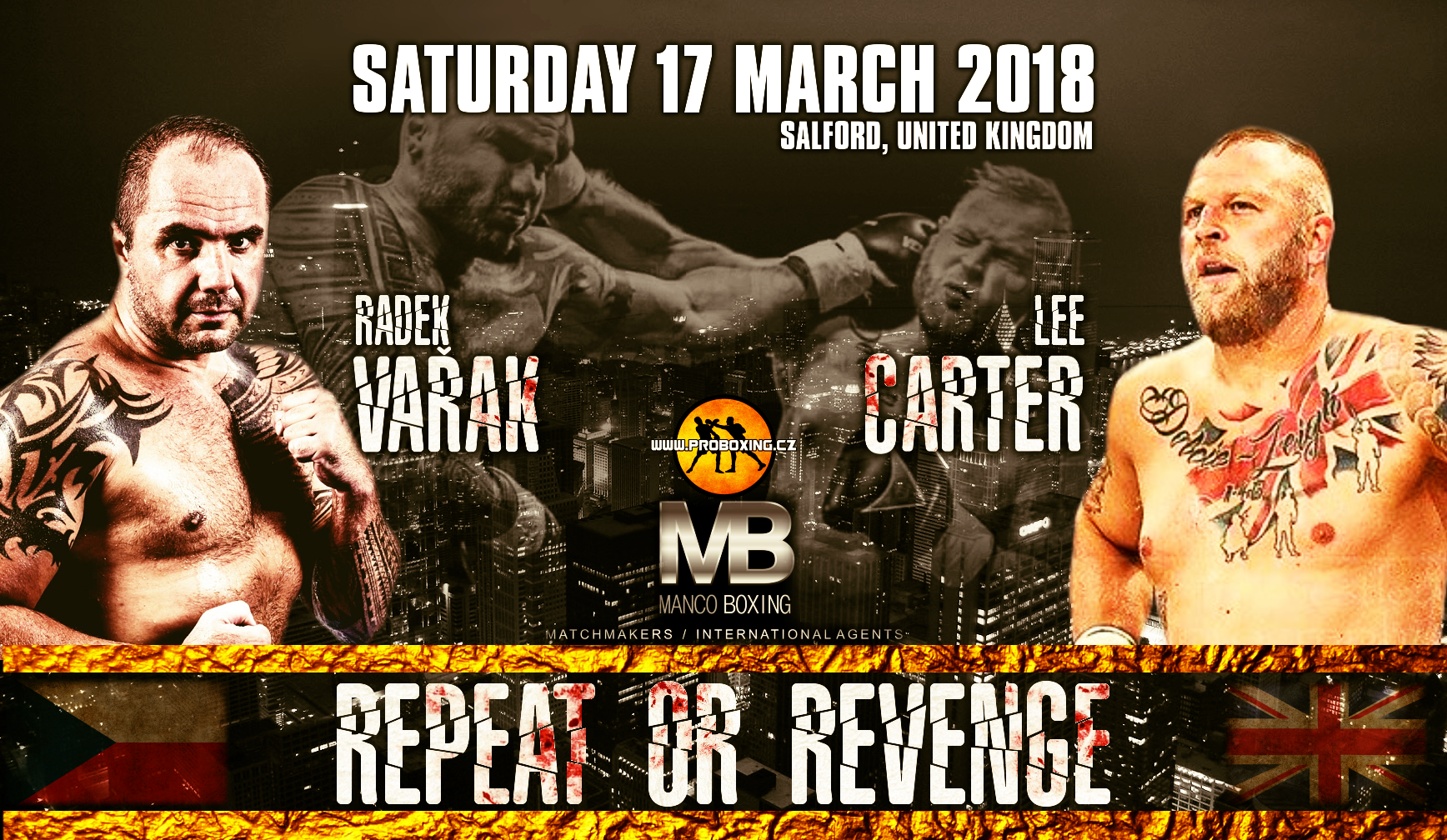 Radek Vařak vs Lee Carter 2