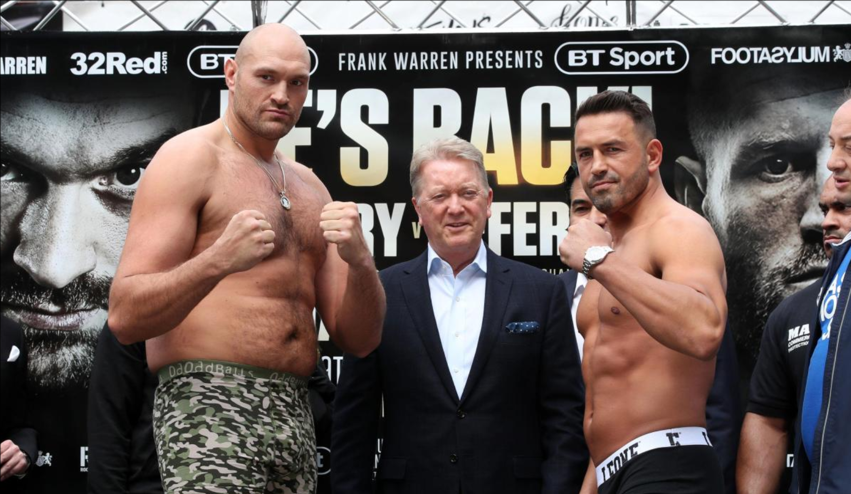 Tyson Fury vs Sefer Seferi